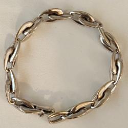 Bracelet en or Blanc de 18k