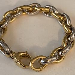 Bracelet Bicolor d'or 18k