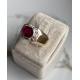 Rubis and Diamond Ring