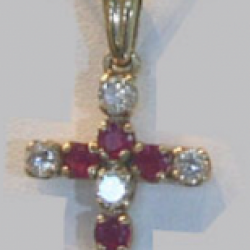 Diamond and Rubis Cross