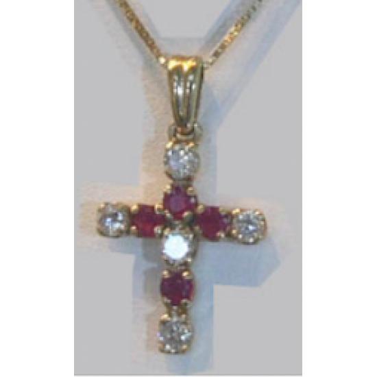 Diamond and Rubis Cross