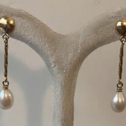 Boucles Oreilles avec Perle